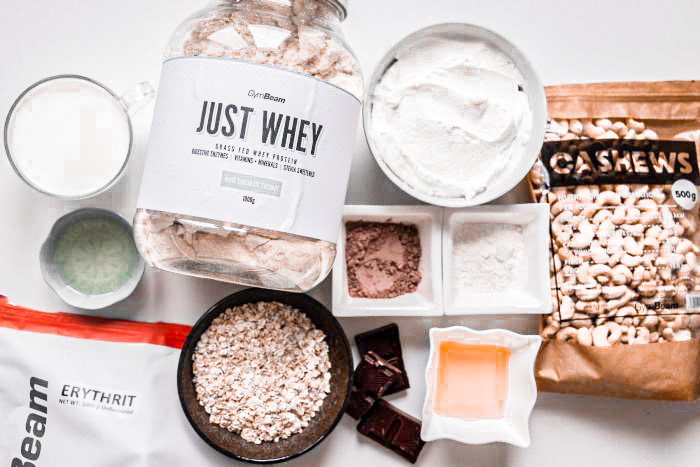 Fitness protein cake ingredients