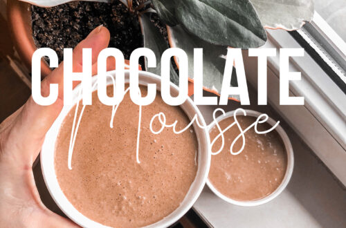 The easiest diet chocolate mousse recipe
